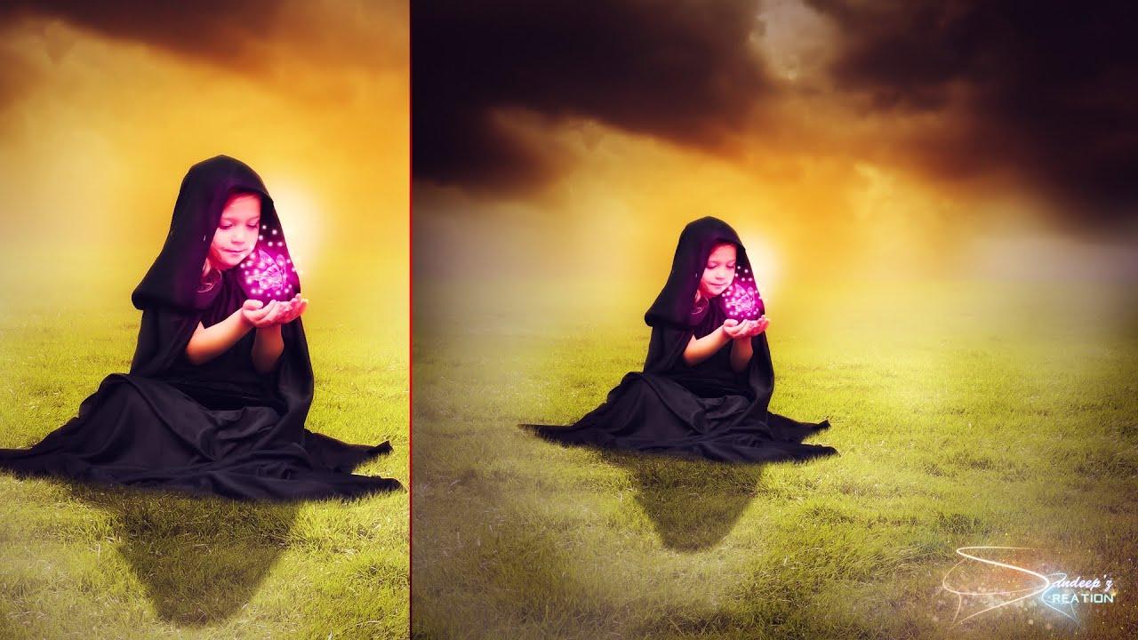 Butterfly Lady by Kieron Adams - Photoshop Creative