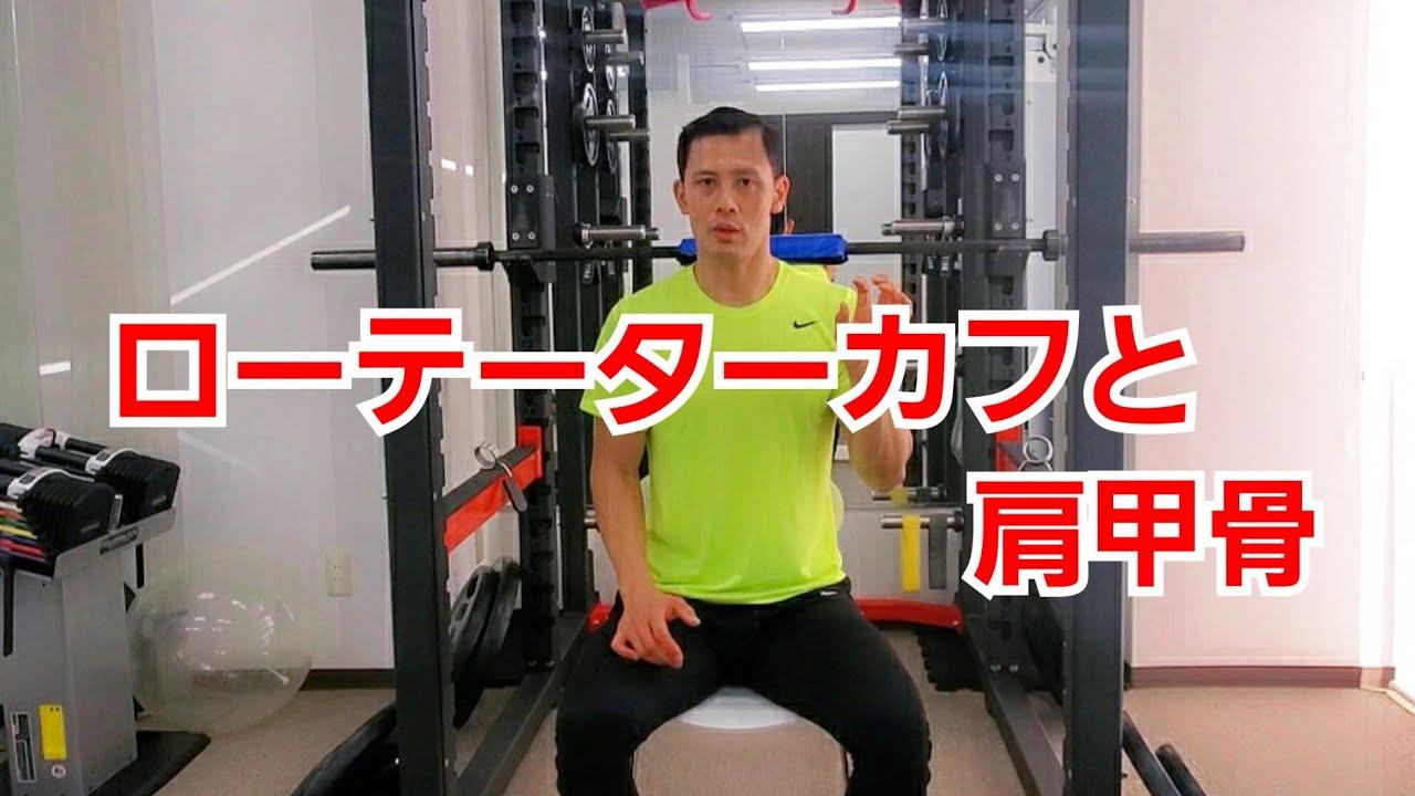 トレーニング ローテーター カフ