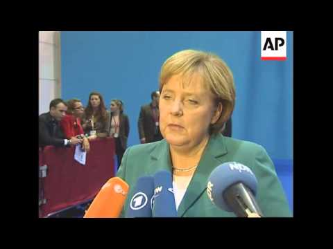 German Chancellor comments on Zimbabwe during EU AU summit