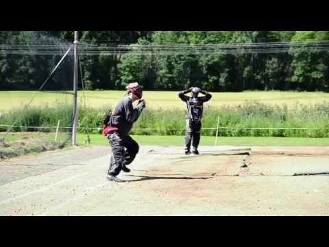 Fedorov Paintball clinic in Norway