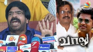 I lost 2 crores for Vaalu because of S Thanu : T Rajendar Press Meet Speech | Producer Council