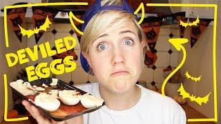 My Drunk Kitchen: Deviled Eggs!
