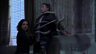 "Once Upon A Time 2x01 ""Broken"" Henry and Ruby see Regina trying to kill David"