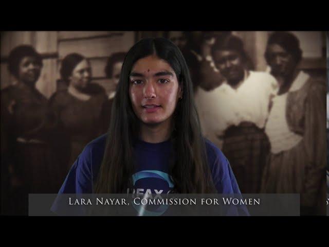 Women's Suffrage: What It Means to Me (Lara Nayar)