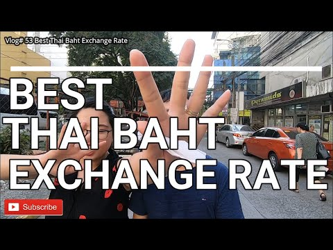 BEST THAI BAHT EXCHANGE RATE IN MANILA | VLOG# 53