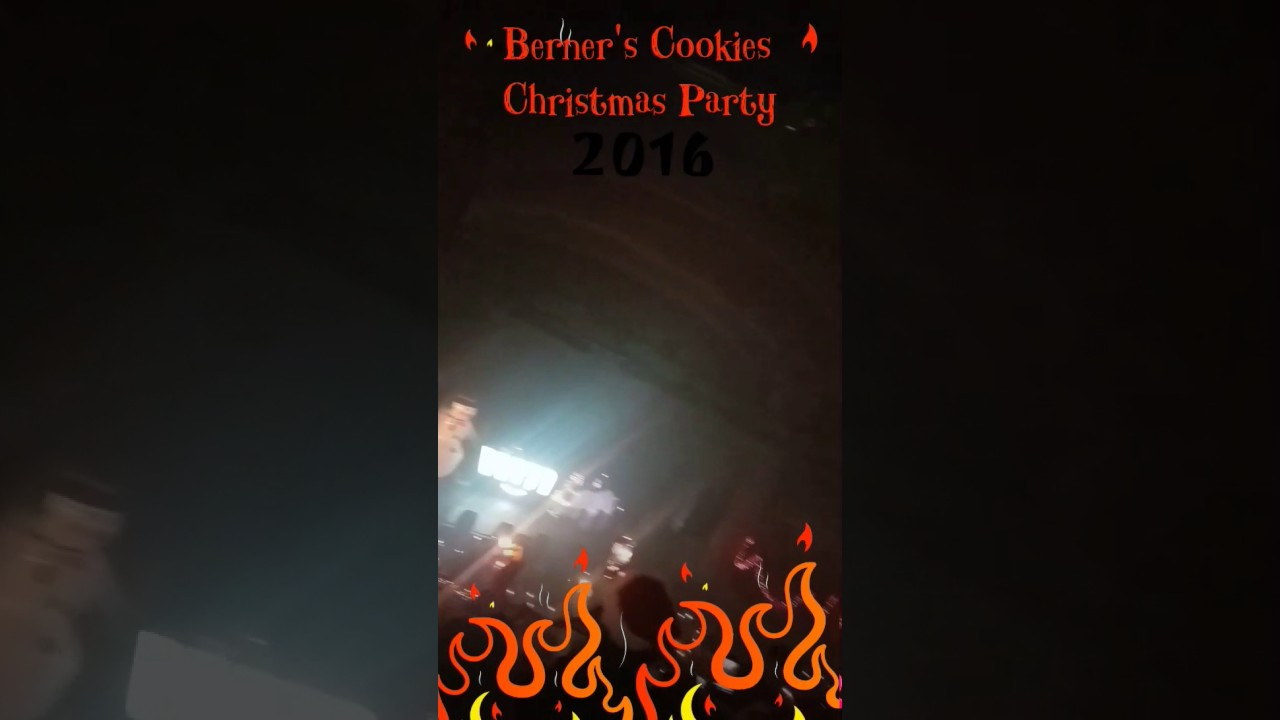 Berner Cookies Christmas party 2016 - YouTube