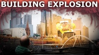 Adobe After Effects - How To Blow Up A Building (Part 1)