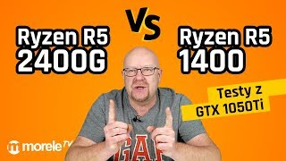 Jaki procesor do gier? Ryzen R5 2400G vs Ryzen R5 1400 | Testy z GTX 1050Ti
