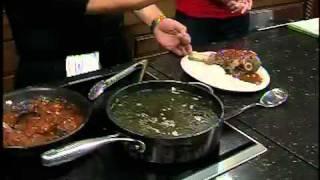 Saba's Mediterranean Cuisine Makes Braised Lamb Shank   Pt 3