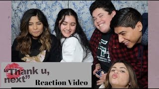 ARIANA GRANDE - THANK YOU, NEXT - ALBUM REACTION VIDEO