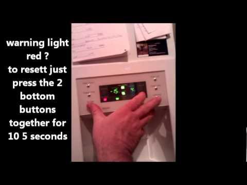 Samsung Fridge Freezer Rs21 Model Resetting The Filter Warning Light Wmv