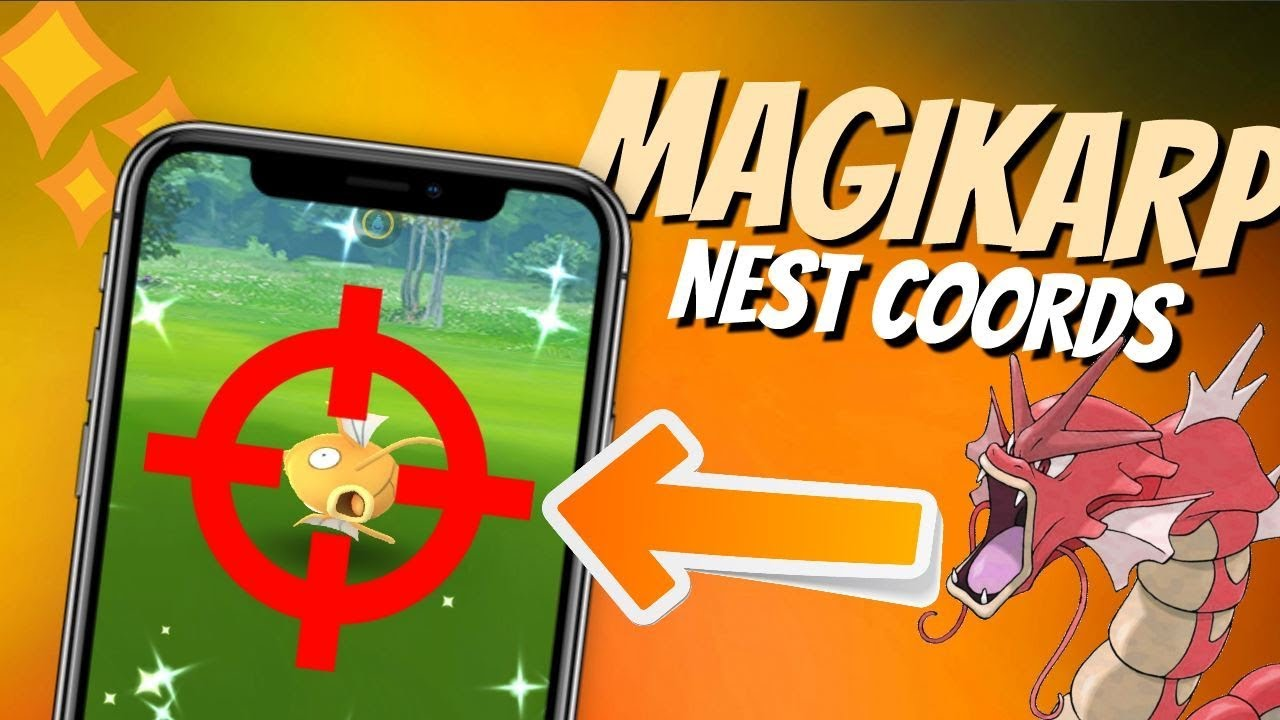 GREAT Shiny Magikarp Nest Coordinates | San Francisco Spoofing! | May 2019