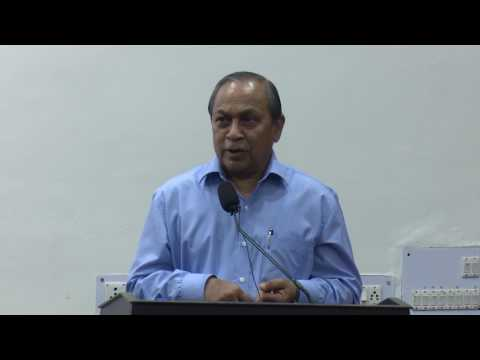 "Guest Lecture ""Prof. P.C.Jain"" Principal of Shri Ram College of Commerce"