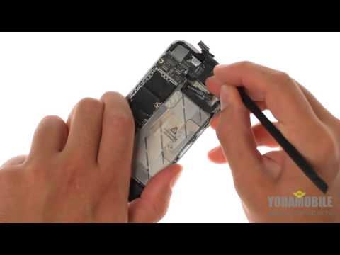 Замена передней камеры IPhone 4S
