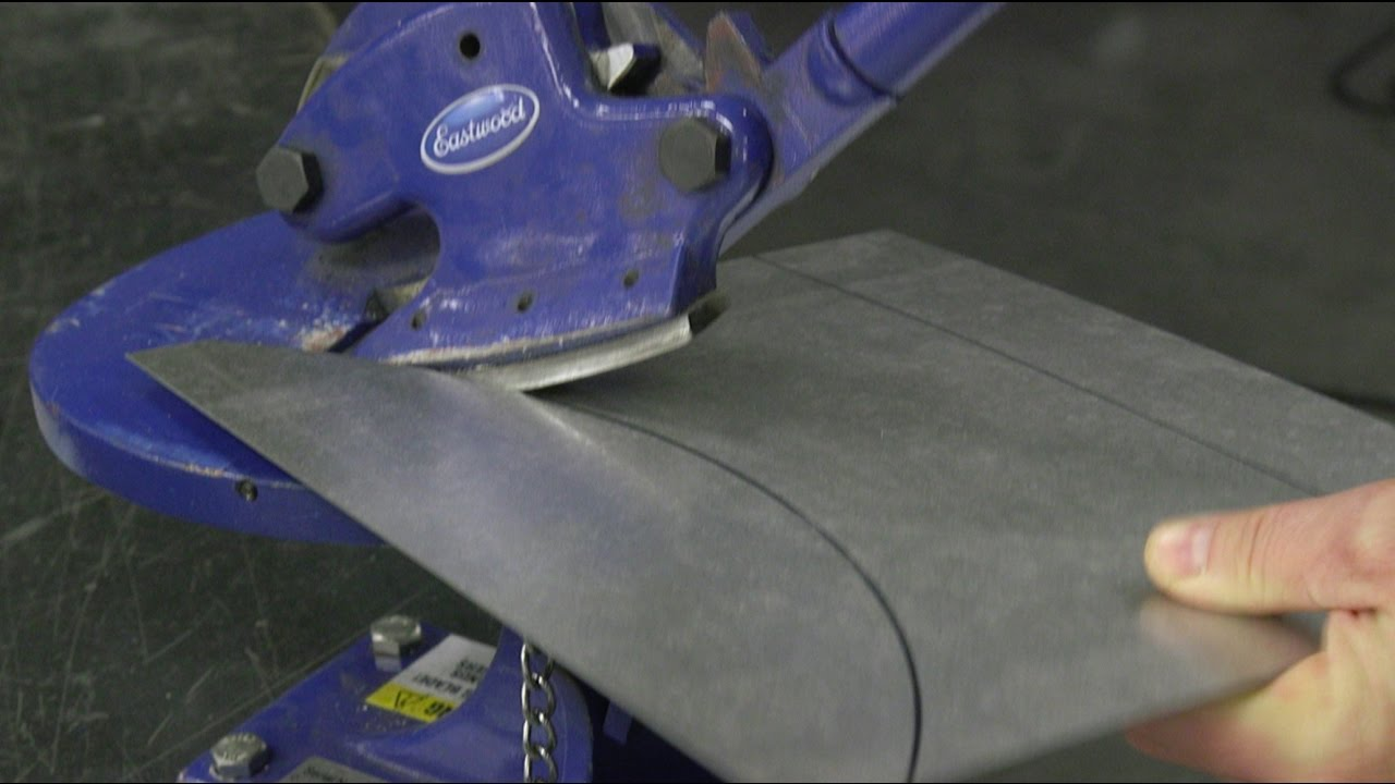 Eastwood Metal Cutting Tools How To Cut Sheet Metal To