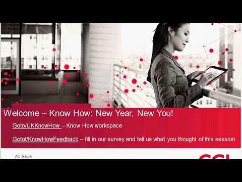 CGI Webinar Presentation- New Year New You