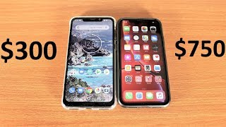 Motorola One Power Vs iPhone XR Speed Test
