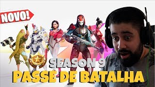 FORTNITE-BATTLE PASS SEASON 9 | New Skins and Novelties