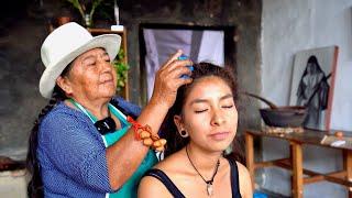 Doña Isabel ASMR Head & Neck Massage cracking whispering spiritual cleansing limpia espiritual 音フェチ