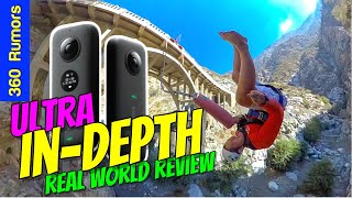 Ultra IN-DEPTH Insta360 ONE X Review: slow motion 360 camera and THIRD PERSON camera