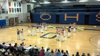 Ontario High School Boys dance 2012