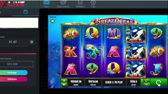 Great Ocean Slots Gameplay From TRONBet Live #TRON #TRX