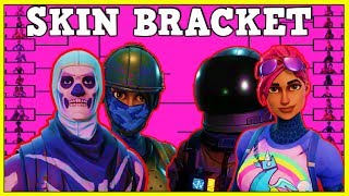 BEST FORTNITE SKINS IN A BRACKET! (WHO WILL WIN!?) | Fortnite Battle Royale!