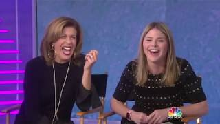 Jenna Bush Hager tights 2