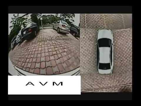 AVM (Around View Monitoring /monitor ) 4CH camera become 360 degree viewer  for car vehicle