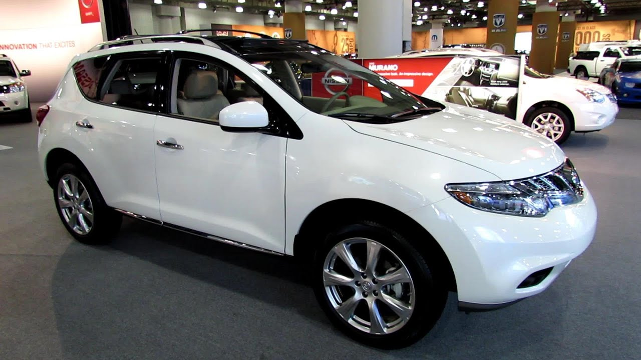 2013 Nissan Murano Platinum Awd Exterior And Interior