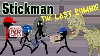 Stickman mentalist. Last Zombie. Zombie looking for work
