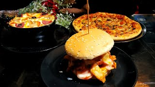It's our Anniversary / Veg Pizza, Kofta Pasta & Cheese Khalifa Burger / De' Pasta Chef