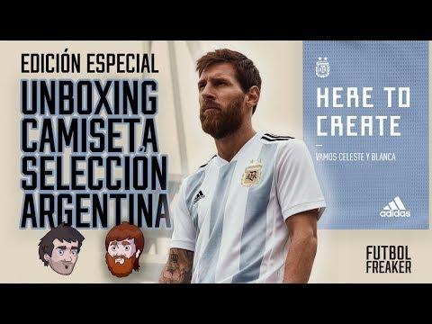 Unboxing Camiseta Seleccion Argentina para Rusia 2018 | Futbol Freaker