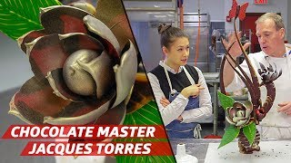 How Legendary Chocolate Master Jacques Torres Builds Chocolate Sculptures — Sugar Coated