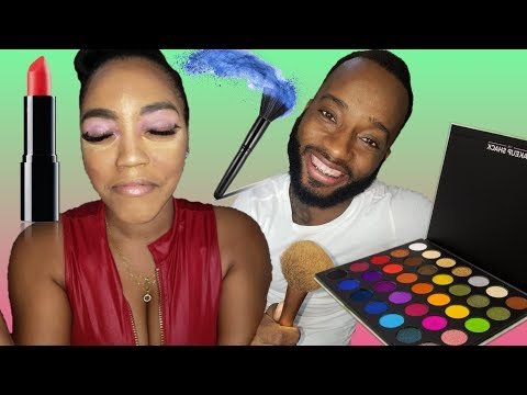 MY BOYFRIEND DOES MY MAKEUP || MUST SEE!!! || CHALLENGE thumbnail