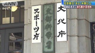 "ANN世論調査 ""国語記述式""問題 5割近く否定的(19/11/11)"