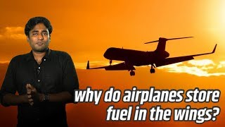 Why do Air planes store fuel in the wings? | Tamil | LMES #88