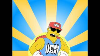 Duffman theme - Yellow Oh Yeah