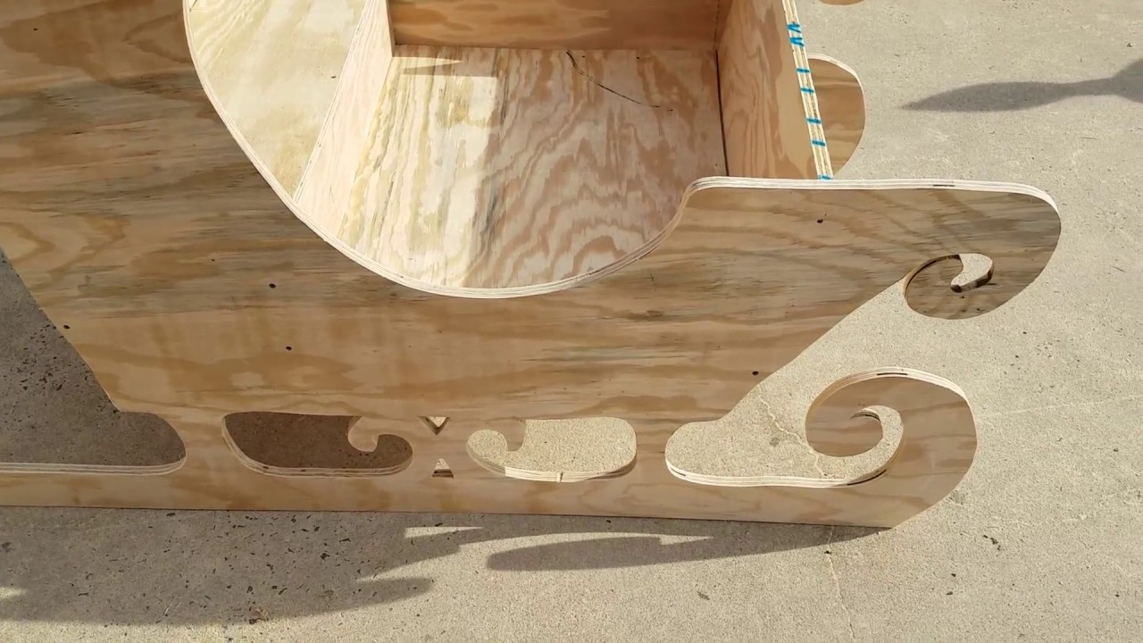 Christmas Sleigh Build
