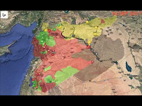 Animated map: Syrian