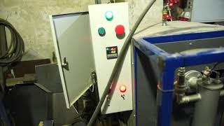 Гранулятор для пеллет с парогенератором