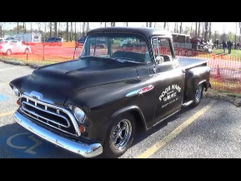 1957 chevy hot rod truck youtube. Black Bedroom Furniture Sets. Home Design Ideas
