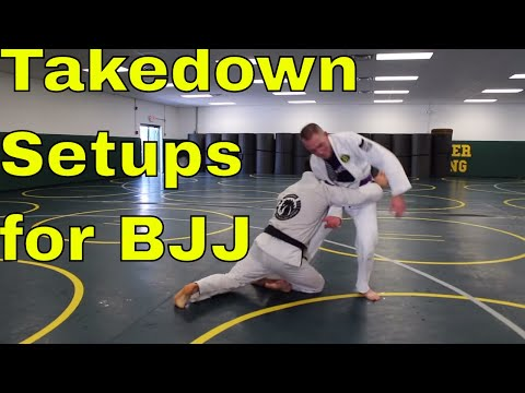 How to Setup a BJJ Takedown with the Gi (Focus on this 1st)