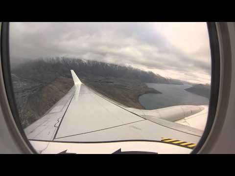 Takeoff from Queenstown Airport