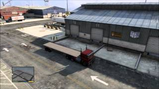 GTA 5 Forklift Trucking