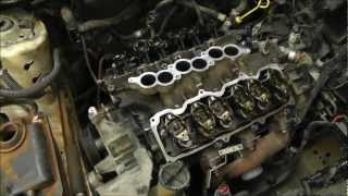 Replacing Head Gaskets On A Ford Taurus 3.0L V6 OHV Engine. With Time Lapse. RWGresearch.com Mp3