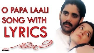 O Papa Laali Full Song With Lyrics - Geethanjali Songs - Nagarjuna, Girija, Ilayaraja