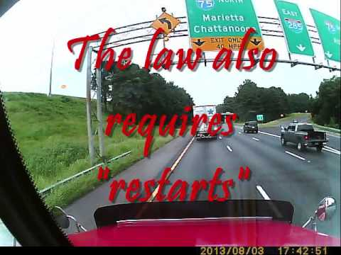 Truck Driver: NEW TRUCK DRIVER RULES July 1, 2013