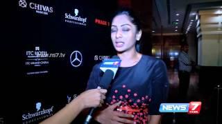 Vivek Karunakaran is my favorite designer : Sriya Reddy | News7 Tamil
