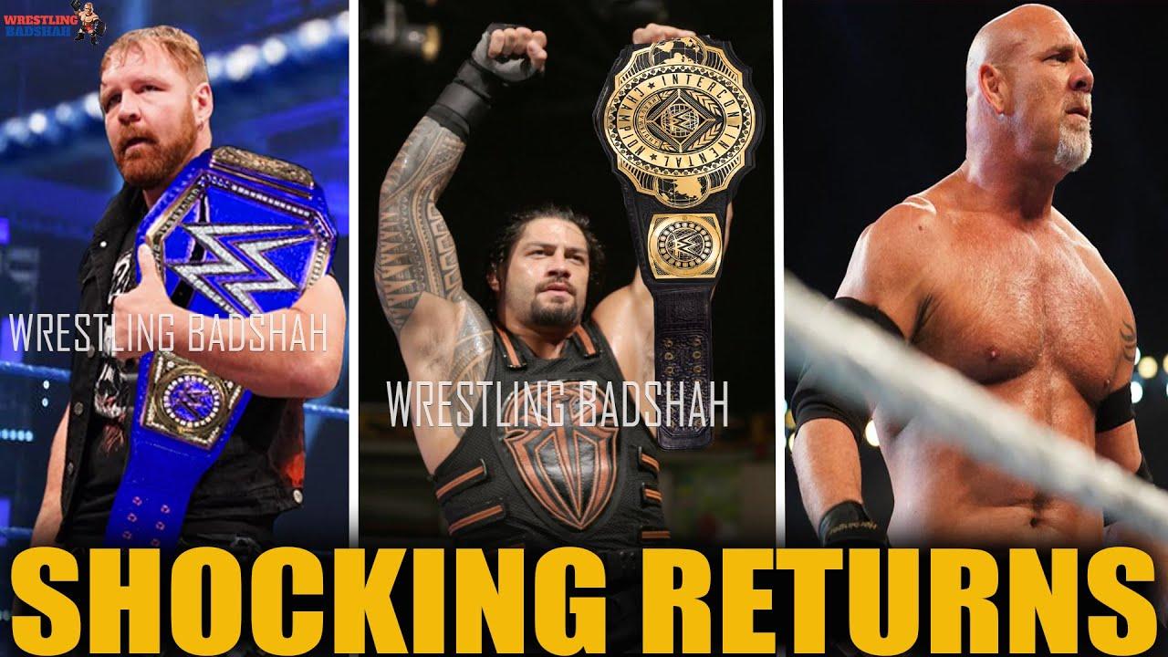 Dean Ambrose Returns & Winning Universal Championship?! Roman Reigns IC Champion?! Goldberg Returns?